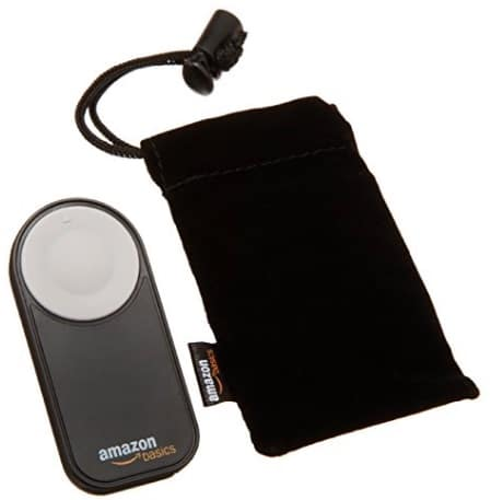 AmazonBasics - Disparador inalámbrico para cámara réflex digital, (5 metros)