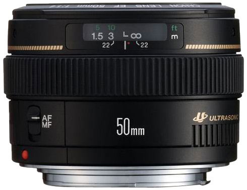 Objetivo Canon EF 50mm f/1.4