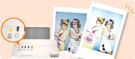 Fujifilm Instax Mini 8 nivel exposición