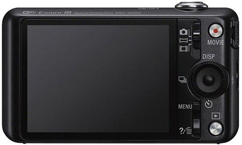 cámara compacta Sony DSC-WX80B LCD
