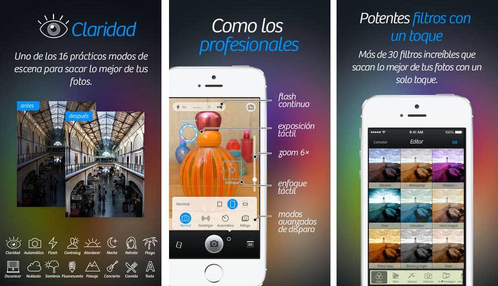 Camera+: Las mejores aplicaciones para iOS (iPhone)