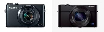 Canon Powershot G7 X vs Sony Cyber-shot RX100 MIII