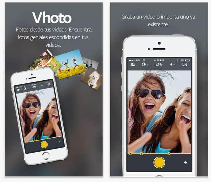 Vhoto - Fotos desde tus videos