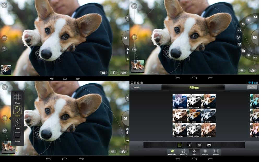 Las mejores aplicaciones fotográficas para Android: Camera Awesome