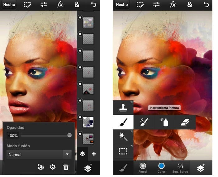 Photoshop Touch iOS App