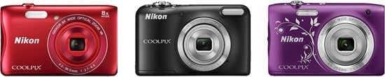 Nikon Coolpix L31, Coolpix S2900 & Coolpix S3700