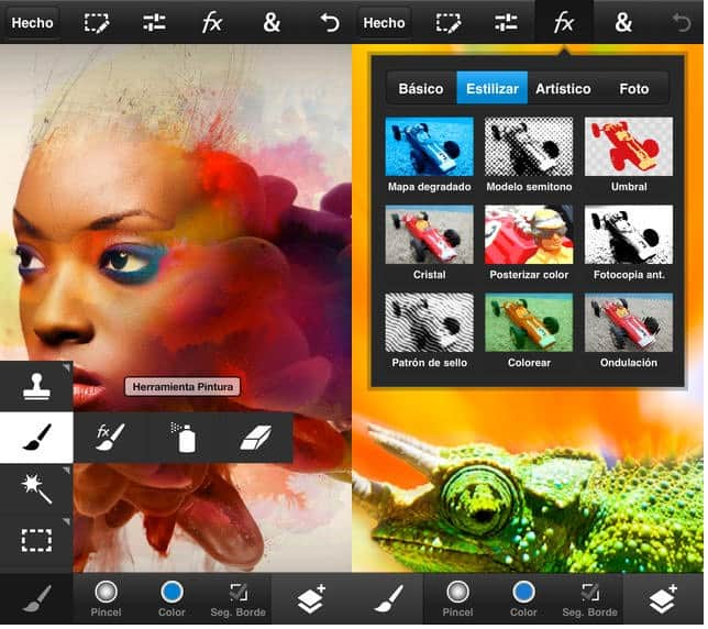 photoshop touch app iphone