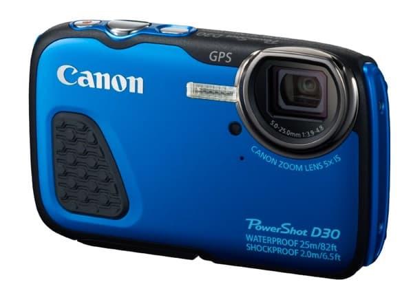 Cámaras compactas de Canon: PowerShot D30