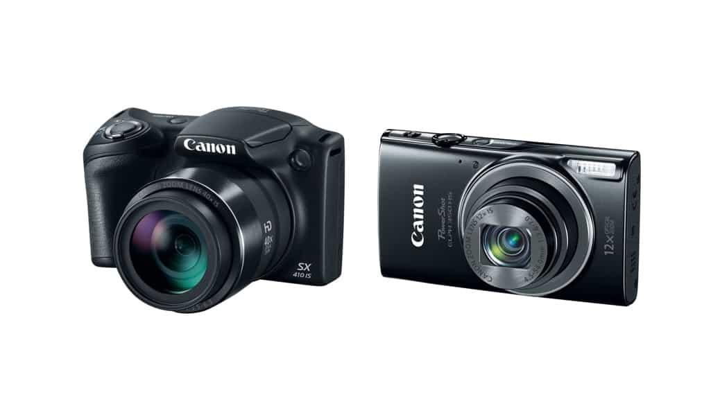 Nuevas cámaras compactas de Canon: PowerShot SX410 IS y ELPH 350 HS
