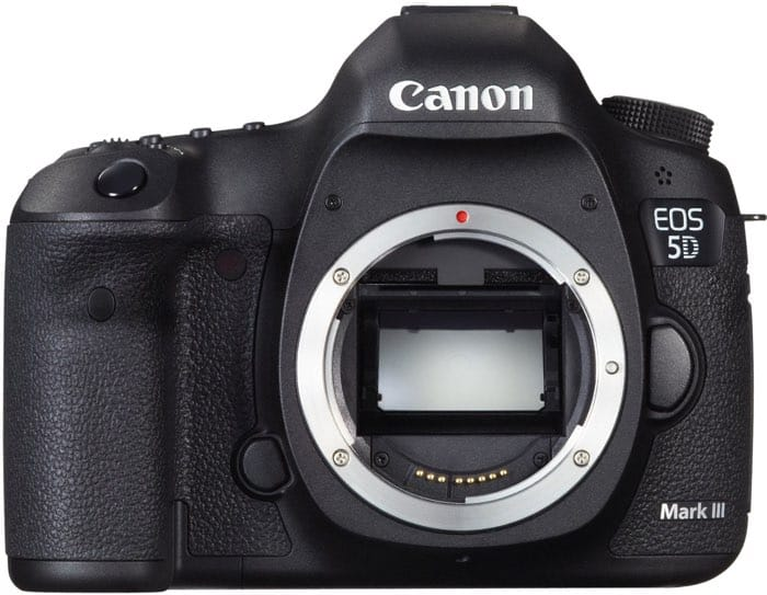 Cámaras Canon DSLR: Canon EOS 5D Mark III