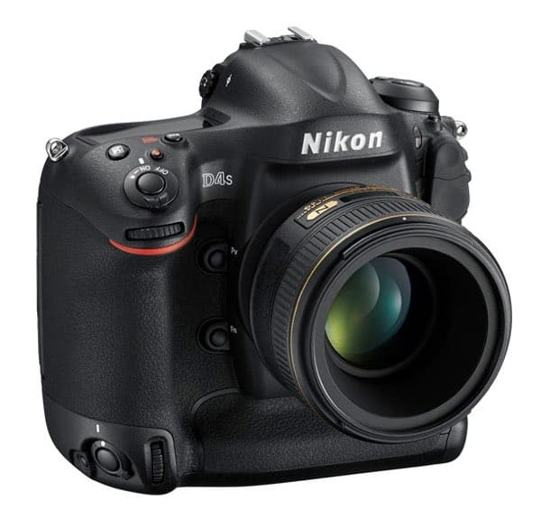 Cámaras Nikon DSLR para profesionales: Nikon D4S