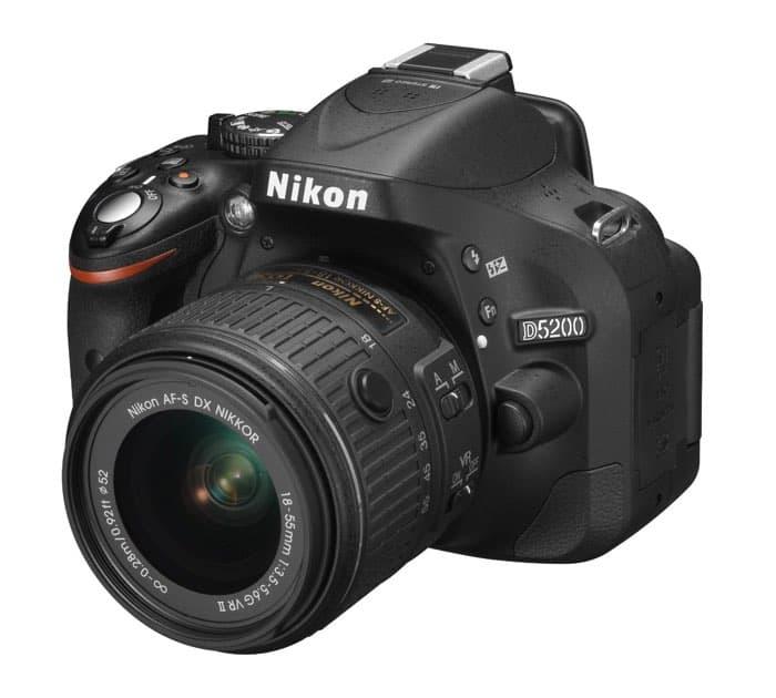 Cámaras Nikon DSLR para principiantes: Nikon D5200