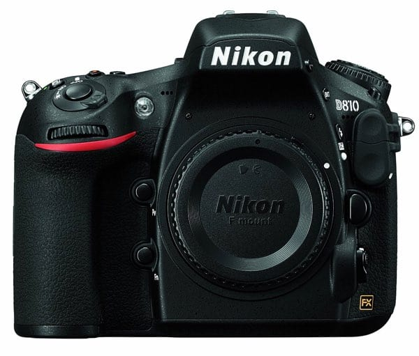 Cámaras Nikon DSLR para profesionales: Nikon D810