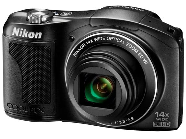 Cámaras compactas de Nikon: Coolpix L610