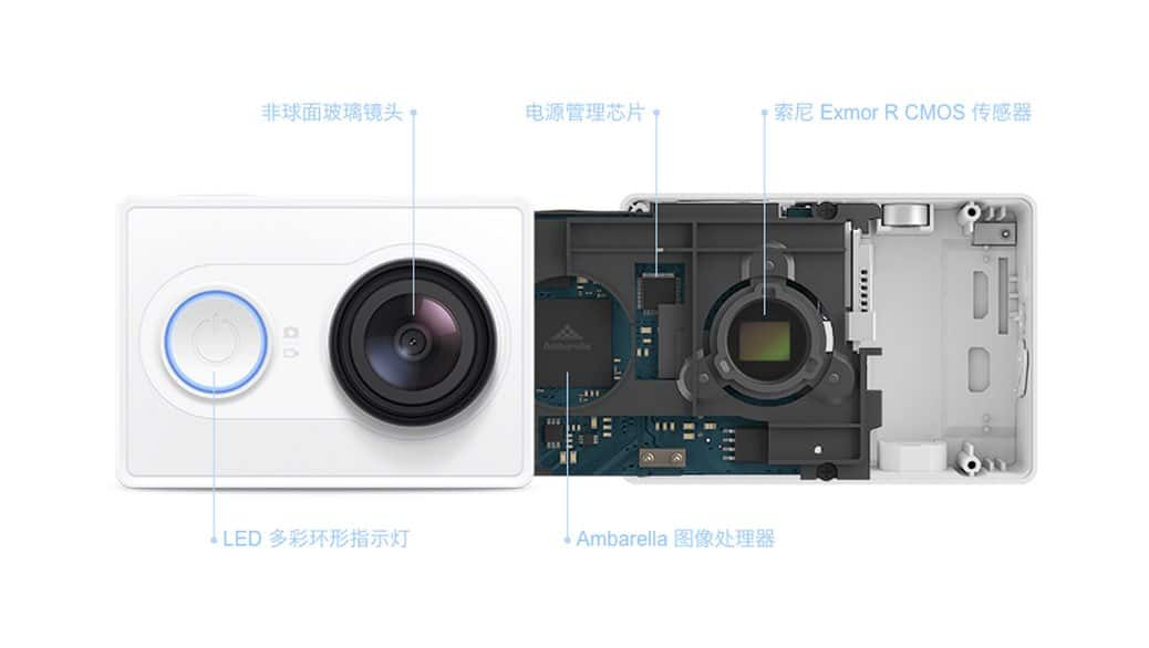 Yi Action Camera - Xiaomi compite contra GoPro y sus cámaras aventura