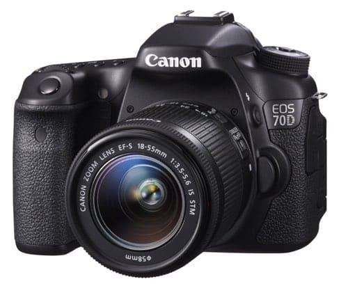 Canon EOS 70D - Cámara réflex digital de 20.2 Mp
