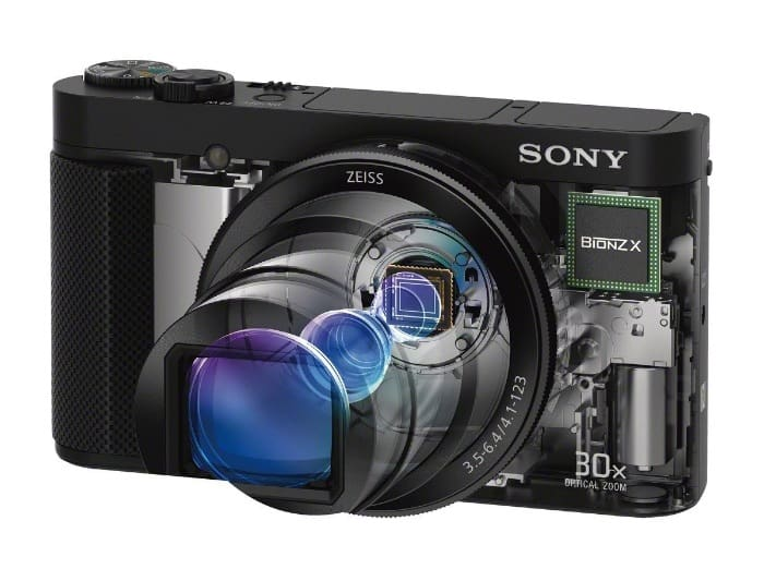 Cámaras Superzoom y Bridge de Sony:Sony Cyber-shot DSC-HX80 y HX90