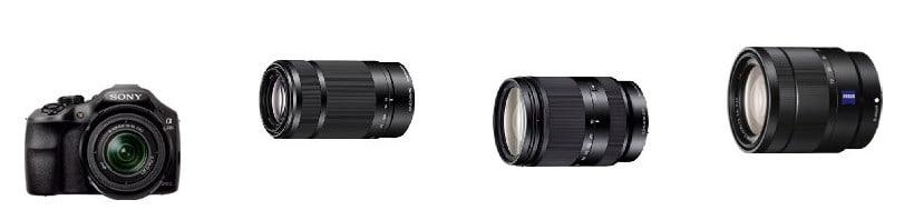30% de descuento en objetivos de Sony por la compra de una cámara DSLR o EVIL