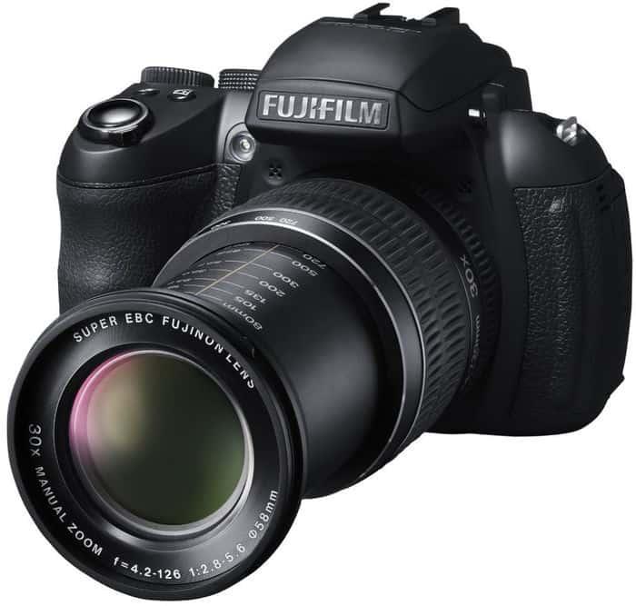 Toda la gama de cámaras de Fuji: Fujifilm FinePix HS30