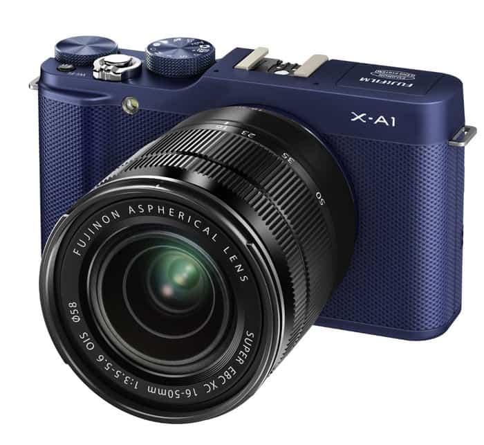 Cámaras CSC (EVIL) de Fuji: Fujifilm X-A1