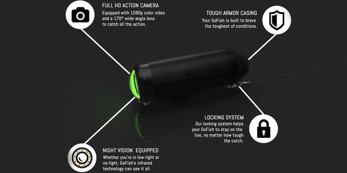 GoFish Cam, la cámara perfecta para los aficionados a la pesca