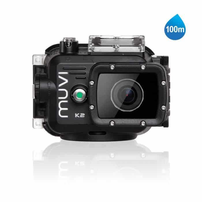 Las mejores cámaras de acción de 2015: Muvi K-2 K2NPNG