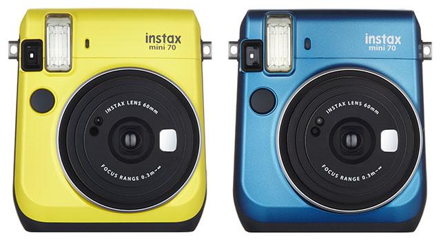 Fujifilm Instax Mini 70 - la nueva cámara instantánea de Fuji