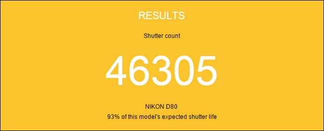 Las cámaras DSLR tienen una vida útil realmente elevada