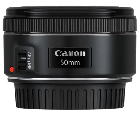 Canon 0570C005AA - Objetivo para cámara réflex (EF 50 mm, F/1.8 STM)