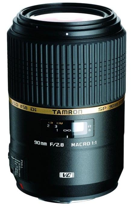 Tamron F004N SP AF 90 mm F/2.8 Di VC USD MACRO 1:1 - Objetivo para Nikon