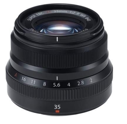 Fujifilm XF35mmF2 R WR - Objetivo