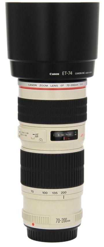 Los objetivos de Canon que debes comprar: Canon EF 70-200MM F/4L USM