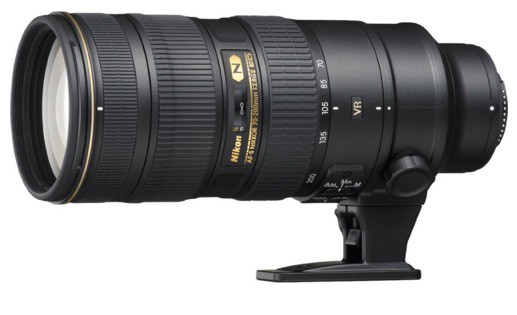 Nikon AF-S 70-200mm F2.8 G ED VRII
