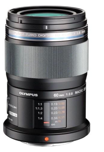 Olympus M.Zuiko digital ED 60 mm / F 2,8 M.ED MACRO - Objetivo para Micro Cuatro Tercios