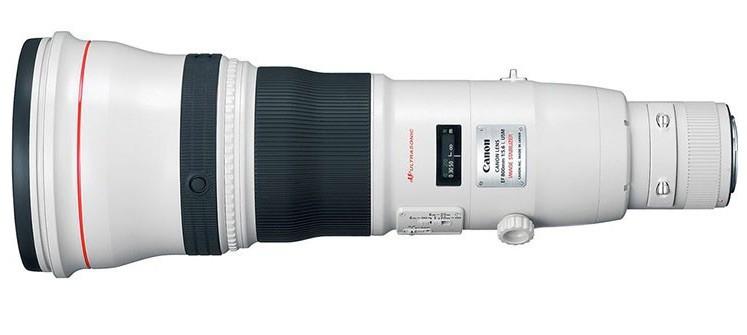 Canon patenta una monstruosa lente 1000mm f/5.6 IS DO