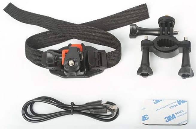 Elephone Elecam 360 WiFi Action Camera accesorios