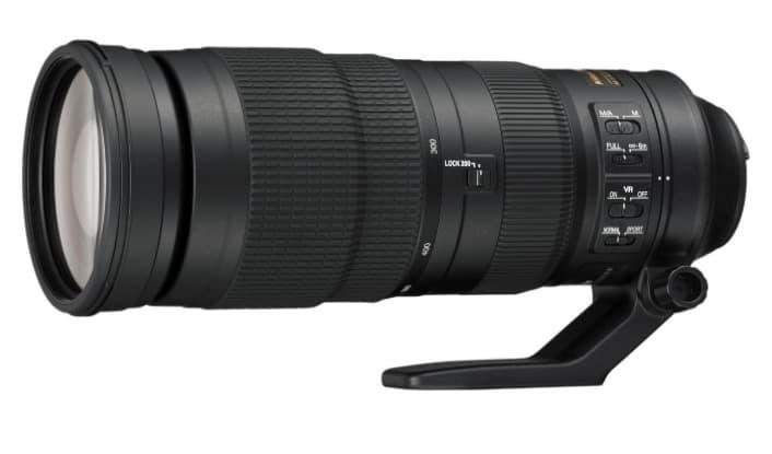 Nikon 200 - 500 mm - Lente para cámara de fotos