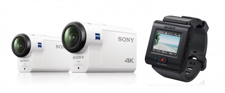 Sony FDR-X3000R y HDR-AS300R
