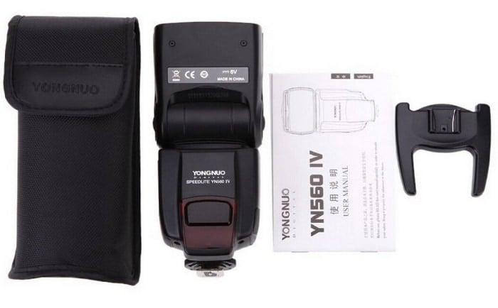 El mejor flash por calidad precio que puedes comprar en 2018: Yongnuo YN-560 IV