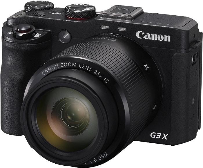 "Canon PowerShot G3X - Cámara digital de 20.2 MP (zoom 25x, pantalla de 3.2"", WiFi)"
