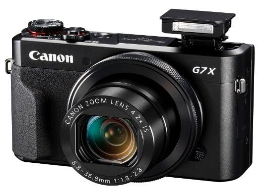 Canon PowerShot G7 X Mark II por menos de 600 euros