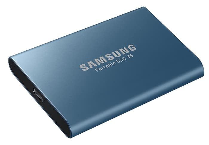 Samsung T5 500GB - Disco Estado sólido SSD Externo (500GB, USB)