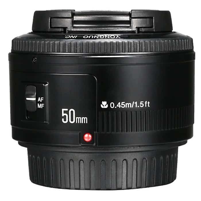 Yongnuo 50mm f/1.8 - Objetivo para Canon