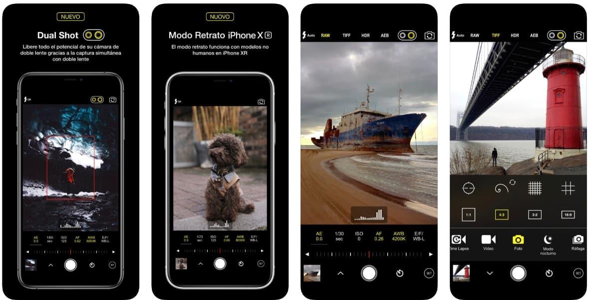 d21865dddaf Las 7 mejores aplicaciones para la cámara del iPhone en 2019