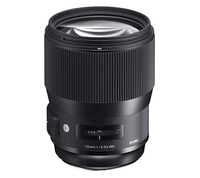 Sigma 135mm f/1.8 DG HSM Art - La mejor lente para retaros para Canon y Nikon