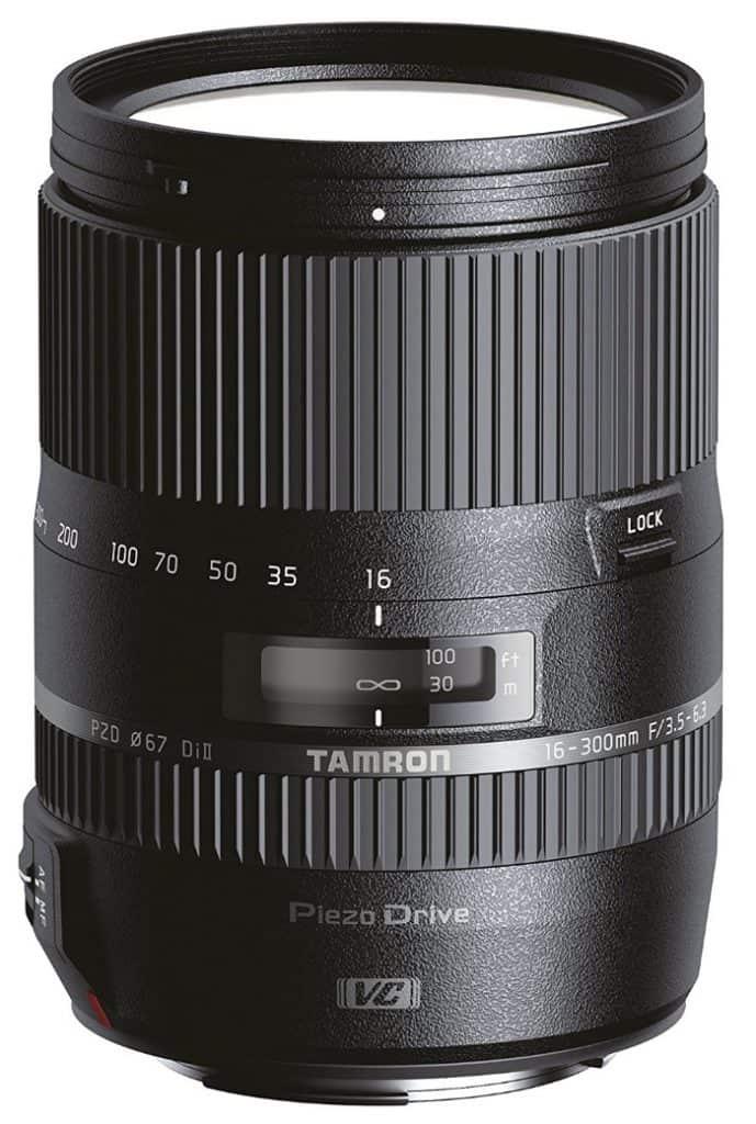Tamron AF 16-300 mm F/3.5-6.3 Di II VC PZD MACRO - Objetivo para cámara réflex Nikon