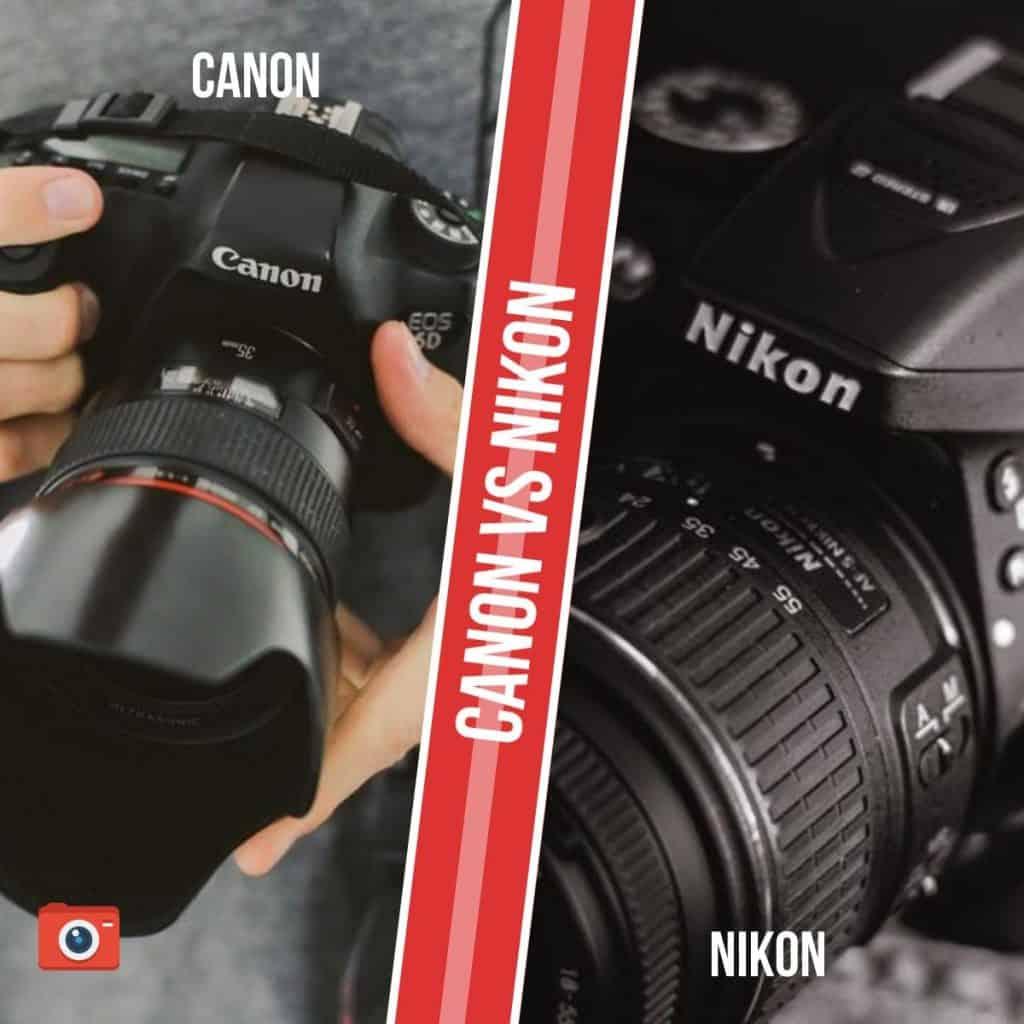 Canon vs Nikon: comparativa de cámaras fotográficas digitales DSLR (Réflex) y CSC