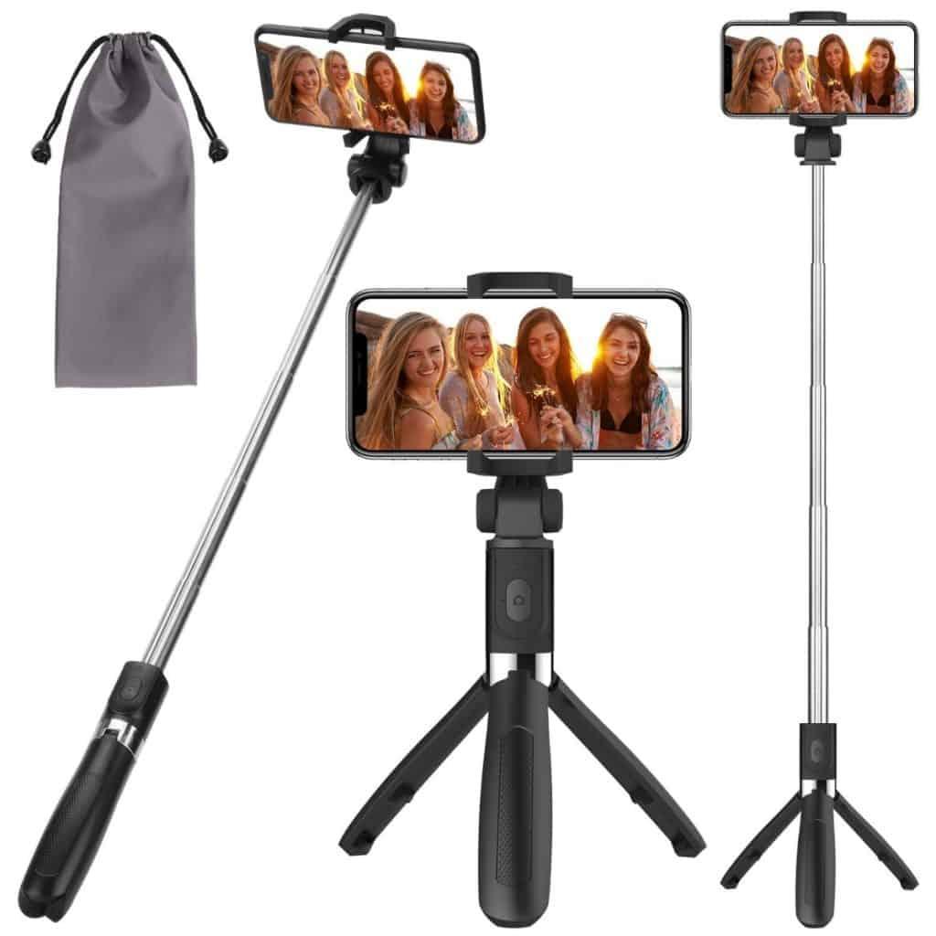 PEYOU Palo Selfie Trípode para Móvil