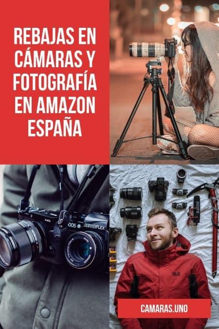 TOP REBAJAS EN AMAZON ESPAÑA en fotografía en 2019
