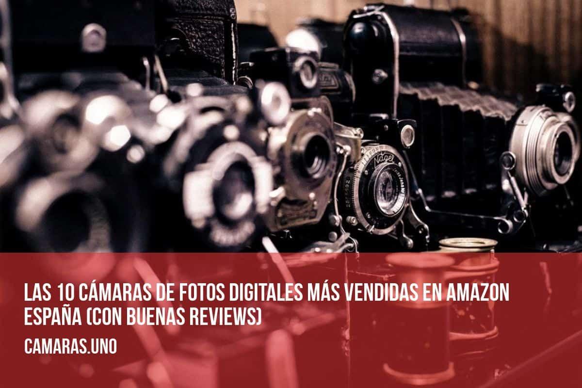 Las 10 cámaras de fotos digitales más vendidas en Amazon España (con buenas reviews)